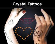 Crystal Tattoo Swarovski